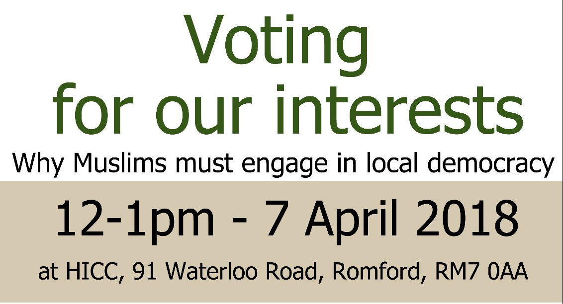 HICC Presents: Political Engagement Event - 7 April