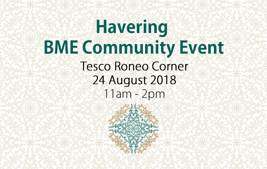 BME Community Event at Tesco Roneo Corner